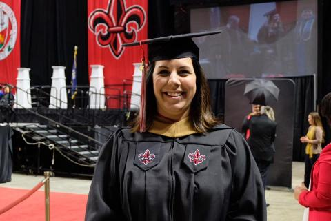 Michelle Hunt, online student enrollment specialist and MBA