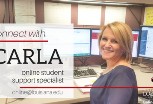 Questions about our courses? Connect with Carla Fontenot